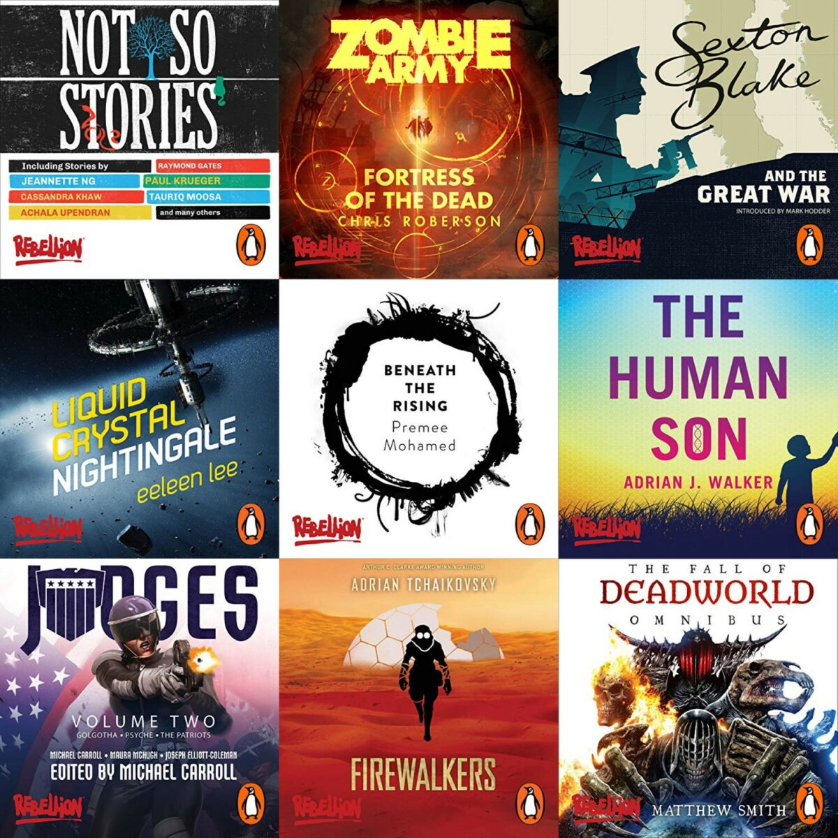 Rebellion titles now on Audible
