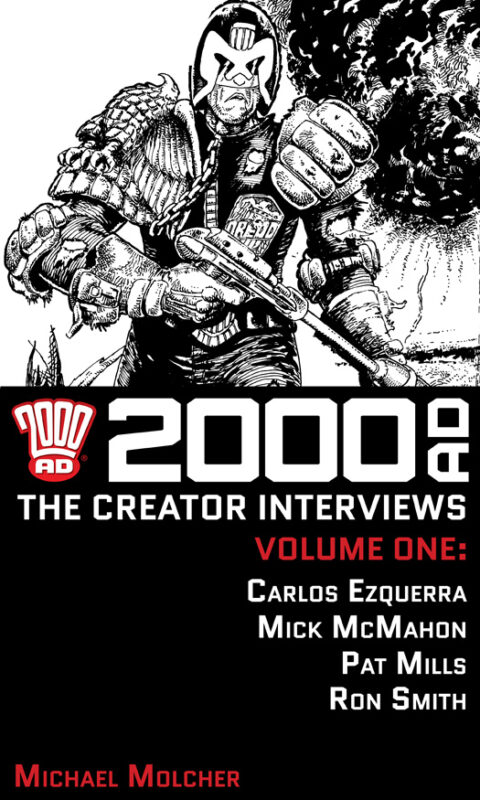 2000 AD: The Creator Interviews – Volume 01