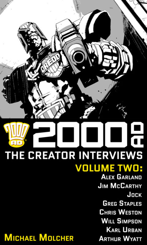 2000 AD: The Creator Interviews – Volume 02