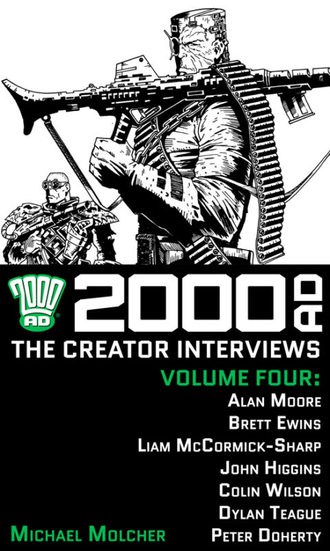 2000 AD: The Creator Interviews – Volume 04