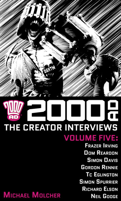 2000 AD: The Creator Interviews – Volume 05