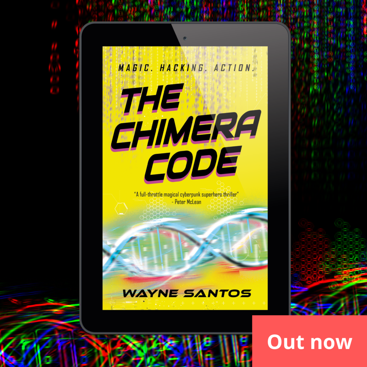 OUT NOW: The Chimera Code (eBook)