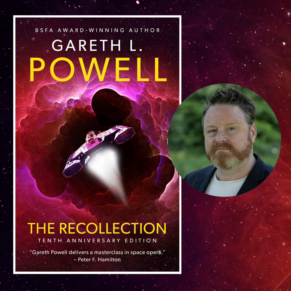 Tenth Anniversary Edition of The Recollection by Gareth L. Powell