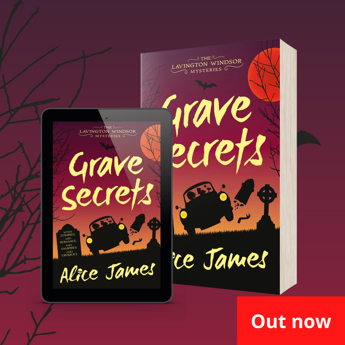 OUT NOW: Grave Secrets by Alice James