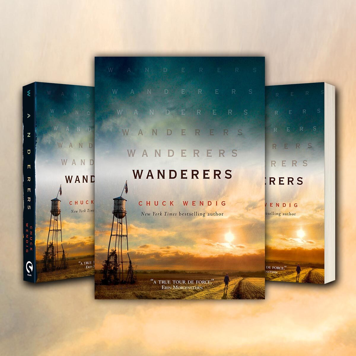 OUT NOW: Wanderers by Chuck Wendig (paperback)