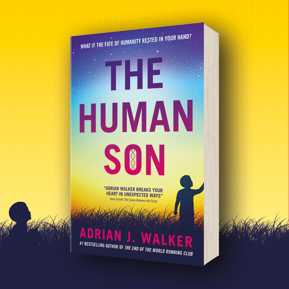 OUT NOW: The Human Son by Adrian J. Walker (paperback)