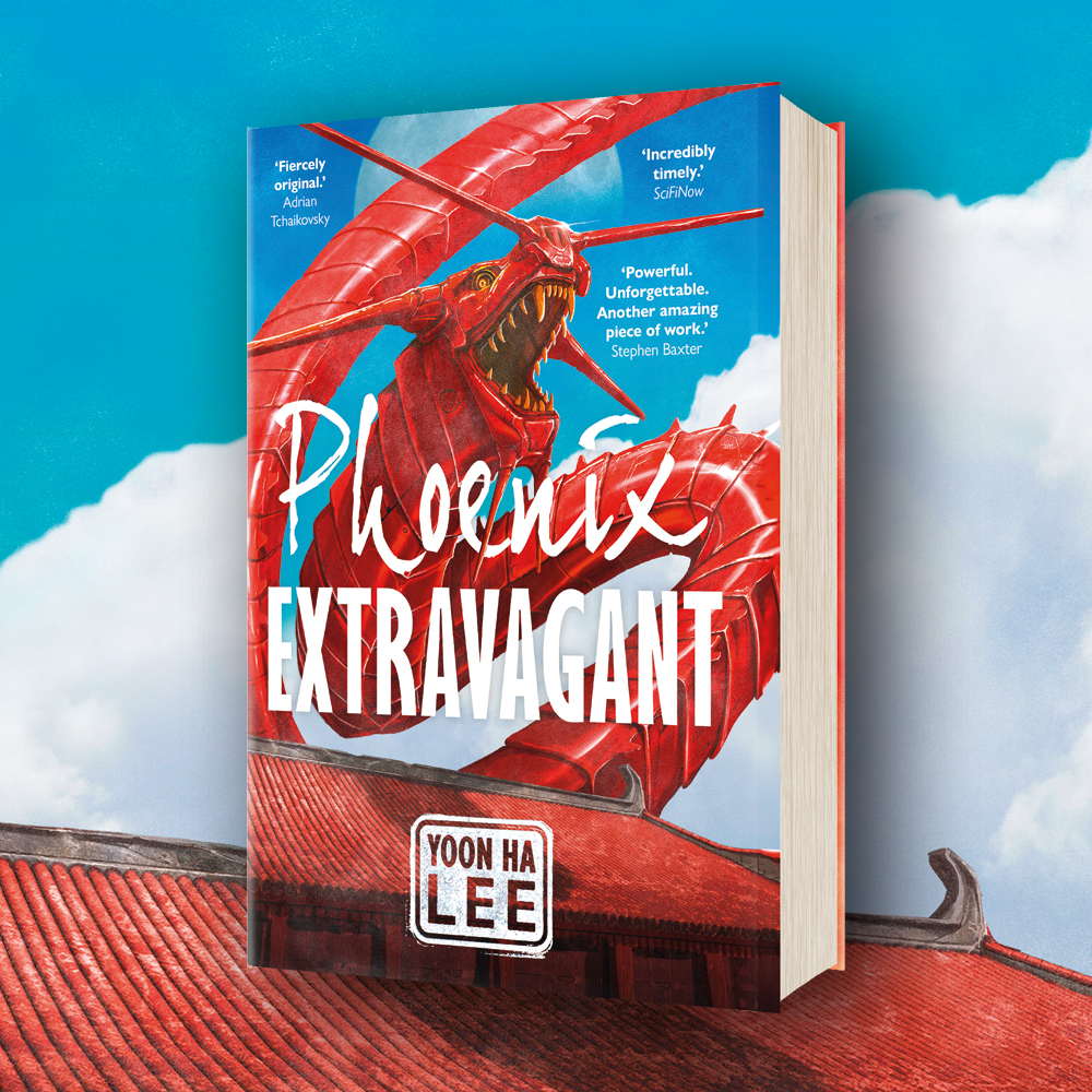 OUT NOW: Phoenix Extravagant by Yoon Ha Lee
