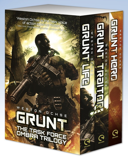 Grunt: The Task Force OMBRA Trilogy ( A Task Force OMBRA Novel )