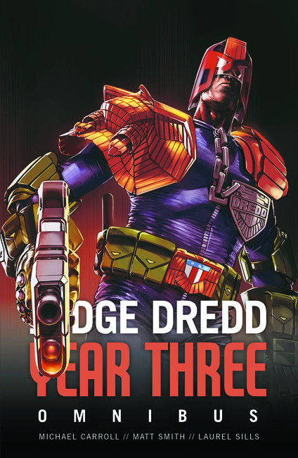 Judge Dredd Year Three ( Judge Dredd: The Early Years )