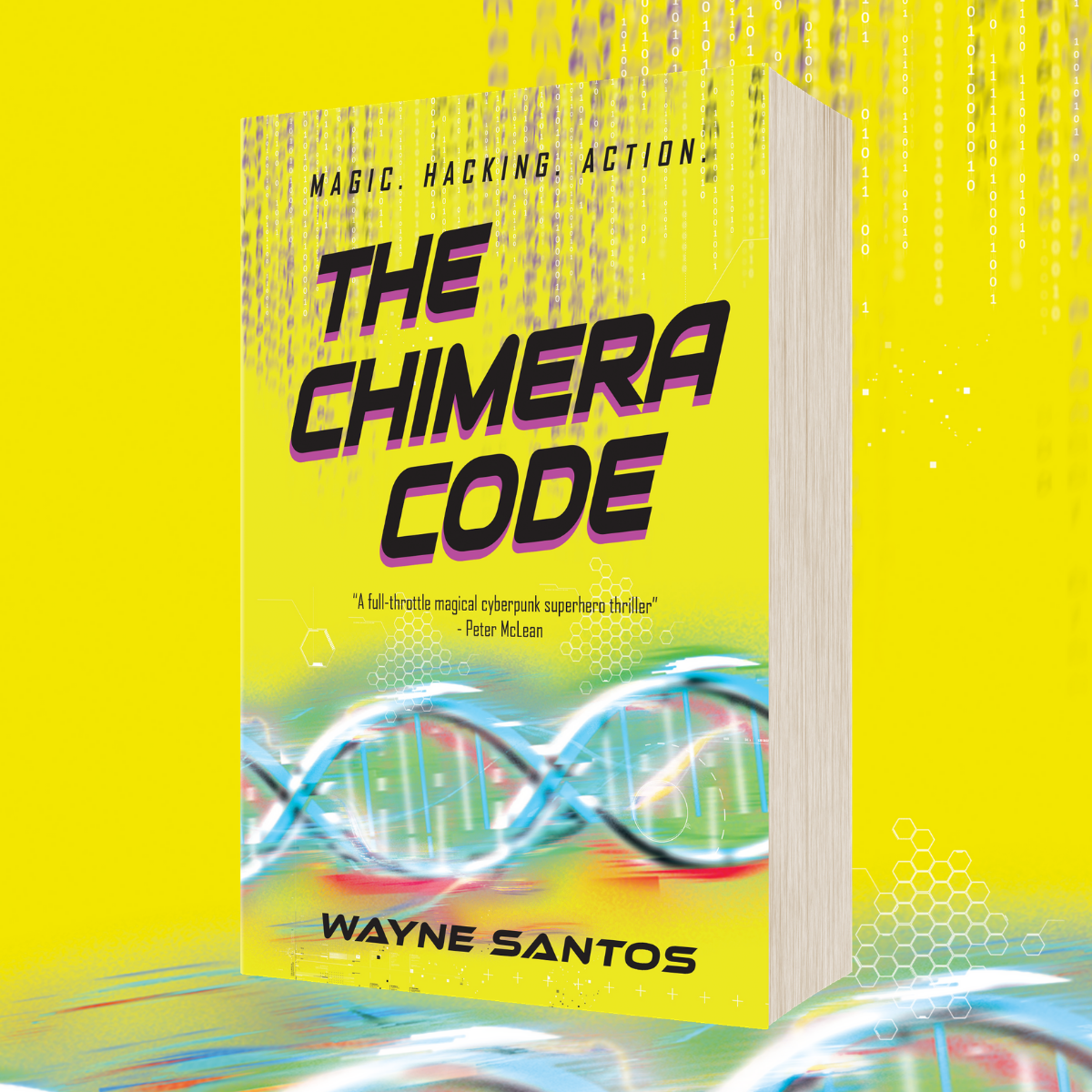 OUT NOW: The Chimera Code by Wayne Santos