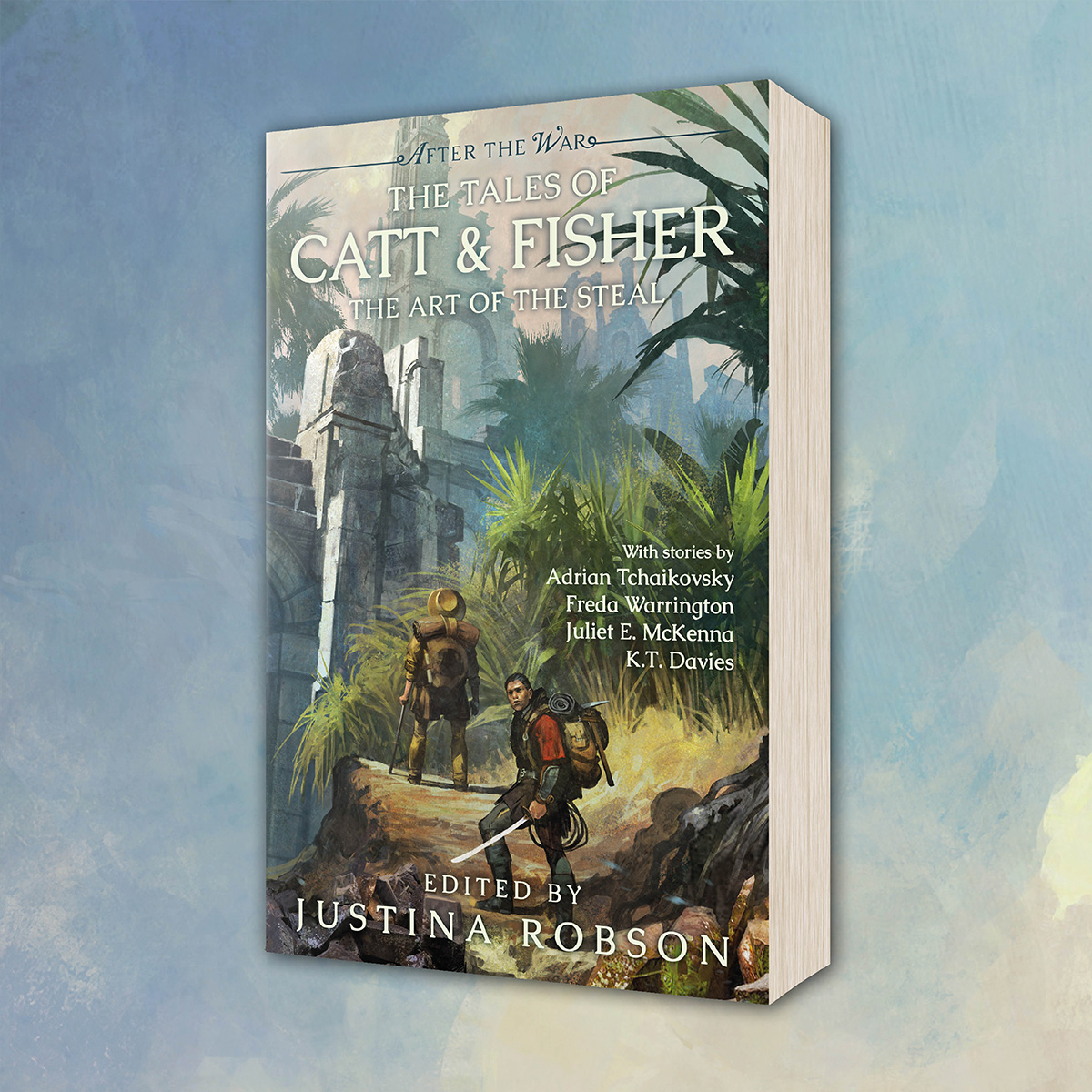 OUT NOW: The Tales of Catt & Fisher edited by Justina Robson