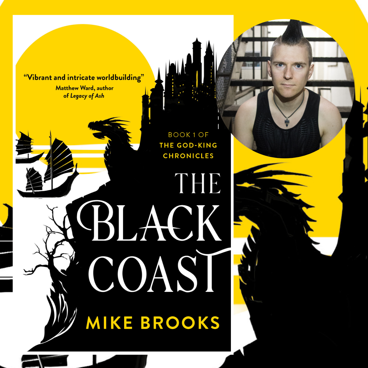 The Black Coast by Mike Brooks