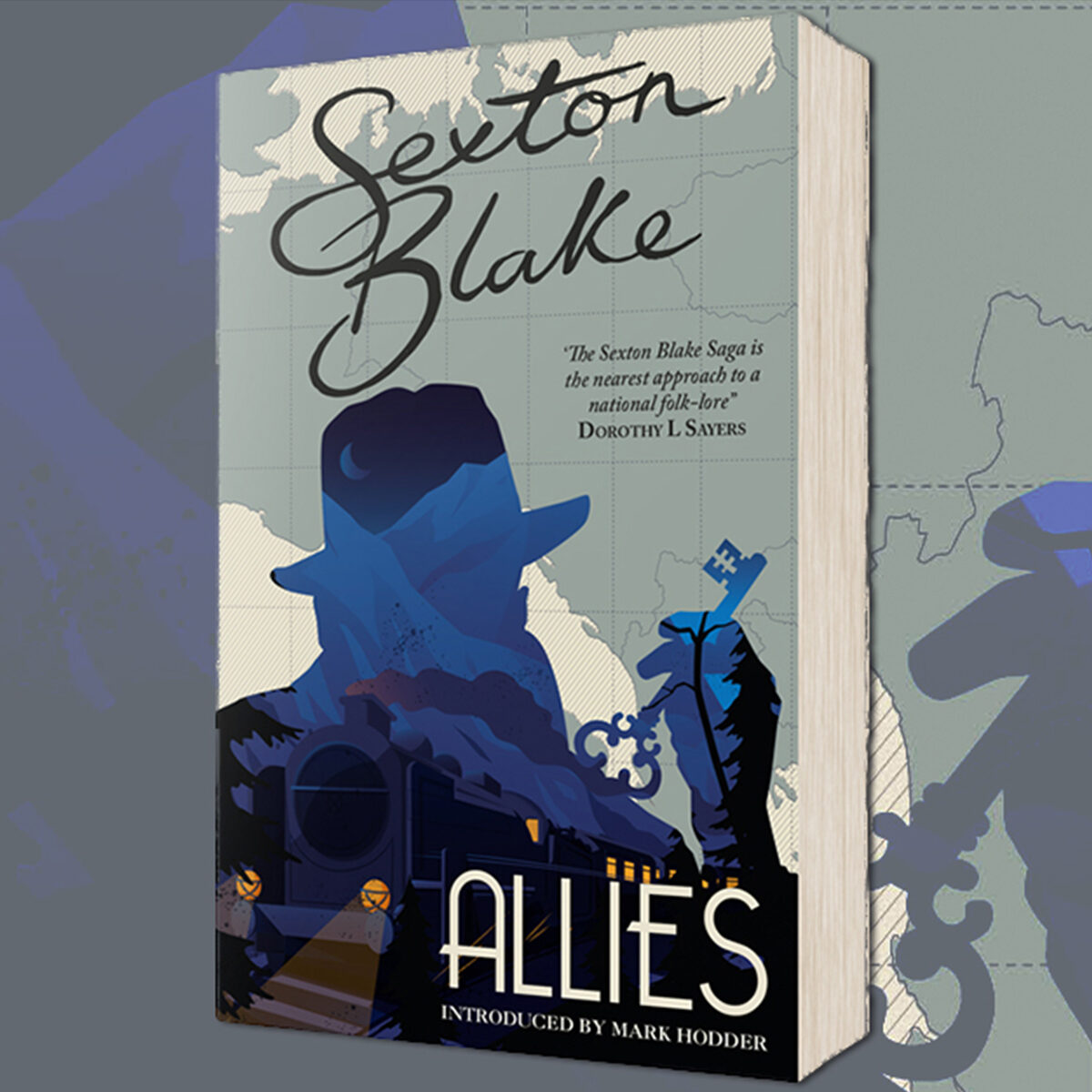 OUT NOW: Sexton Blake's Allies introduced by Mark Hodder