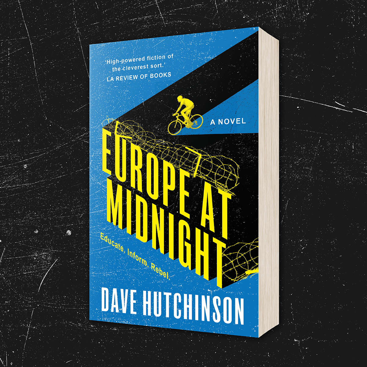 OUT NOW: Europe at Midnight by Dave Hutchinson (US Reissue)