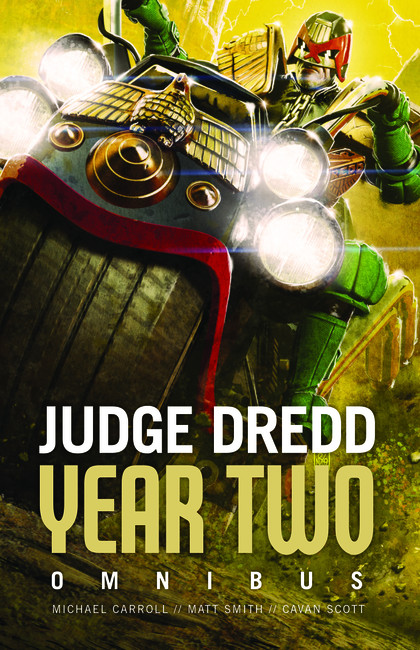 Judge Dredd: Year Two ( Judge Dredd: The Early Years )