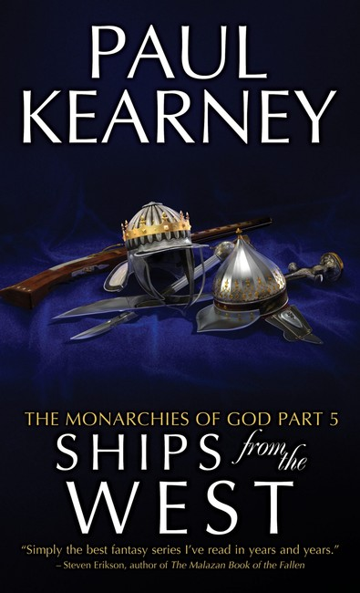Ships From The West ( The Monarchies of God 5 )