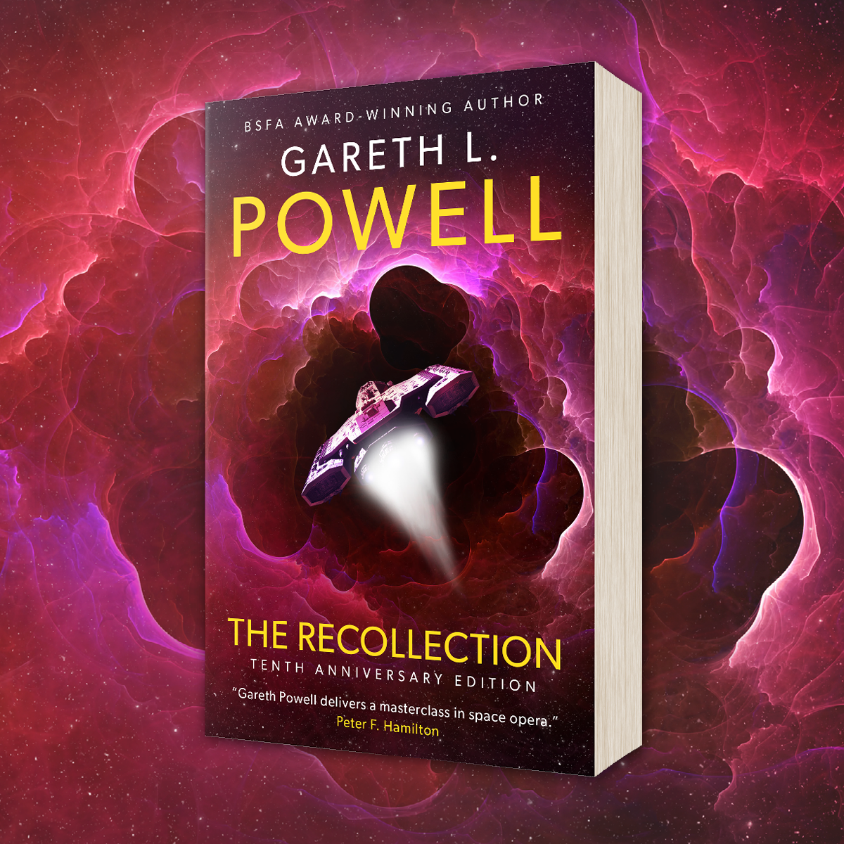 OUT NOW: The Recollection by Gareth L. Powell
