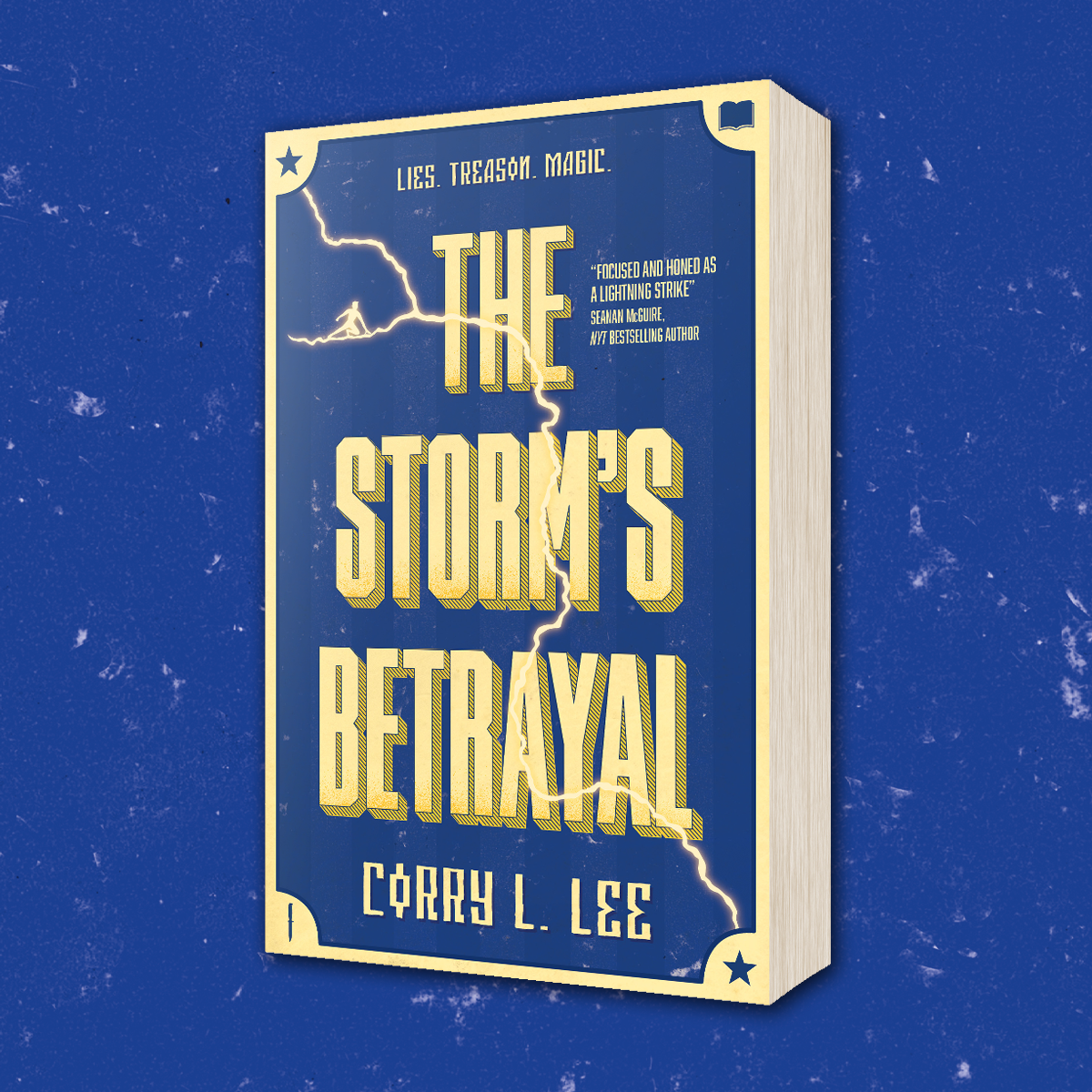OUT NOW: The Storm's Betrayal by Corry L. Lee