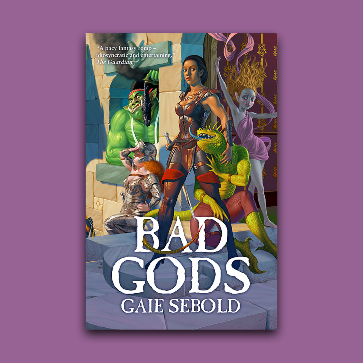 Revealing the cover for Bad Gods by Gaie Sebold