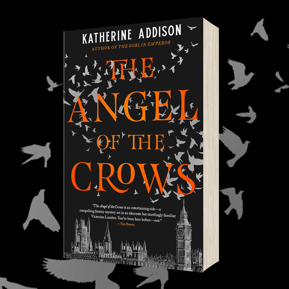 OUT NOW: The Angel of the Crows – Paperback!