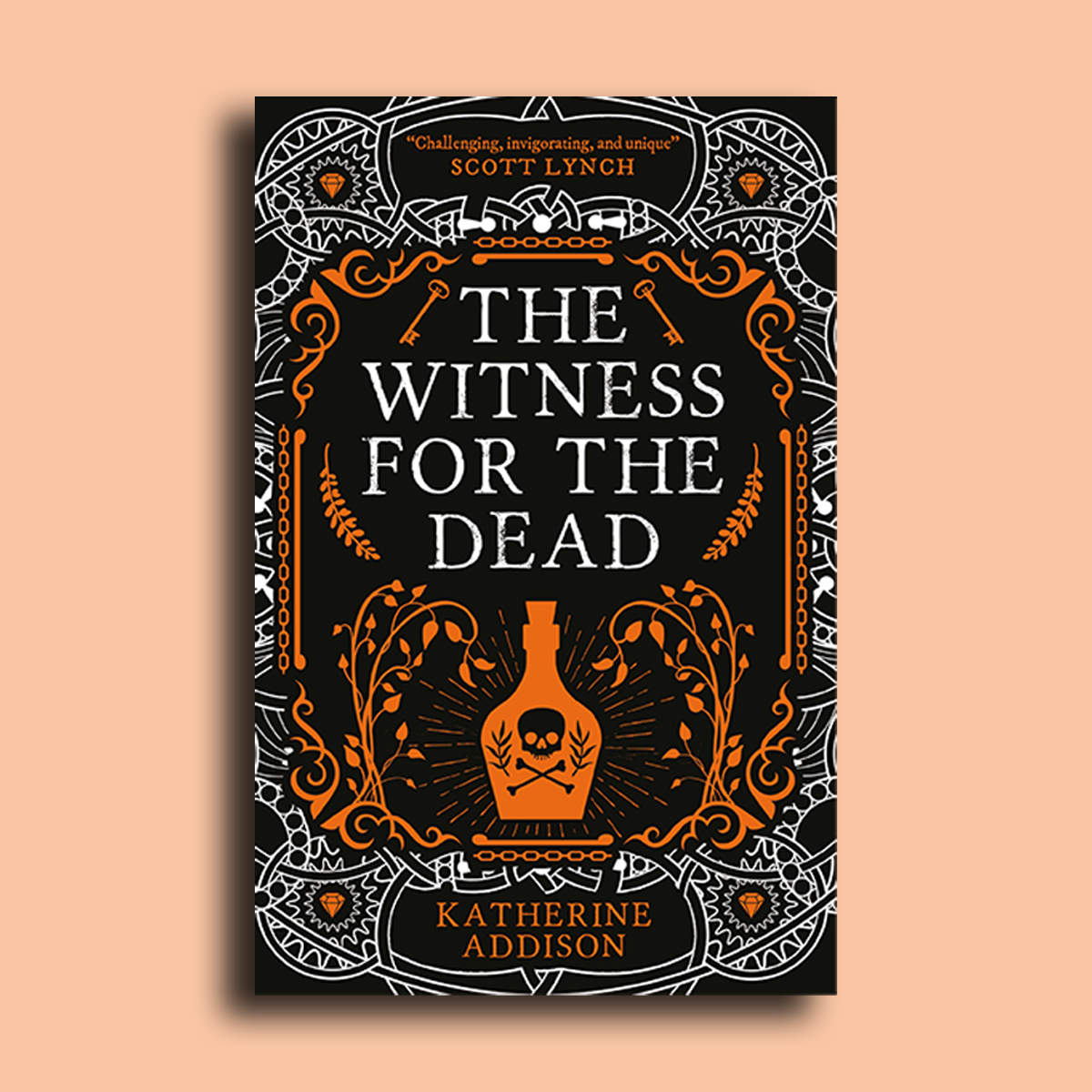 Revealing the cover for The Witness for the Dead by Katherine Addison