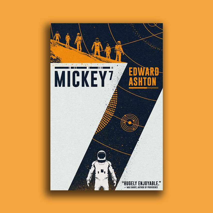 Revealing the UK cover for Mickey7 by Edward Ashton