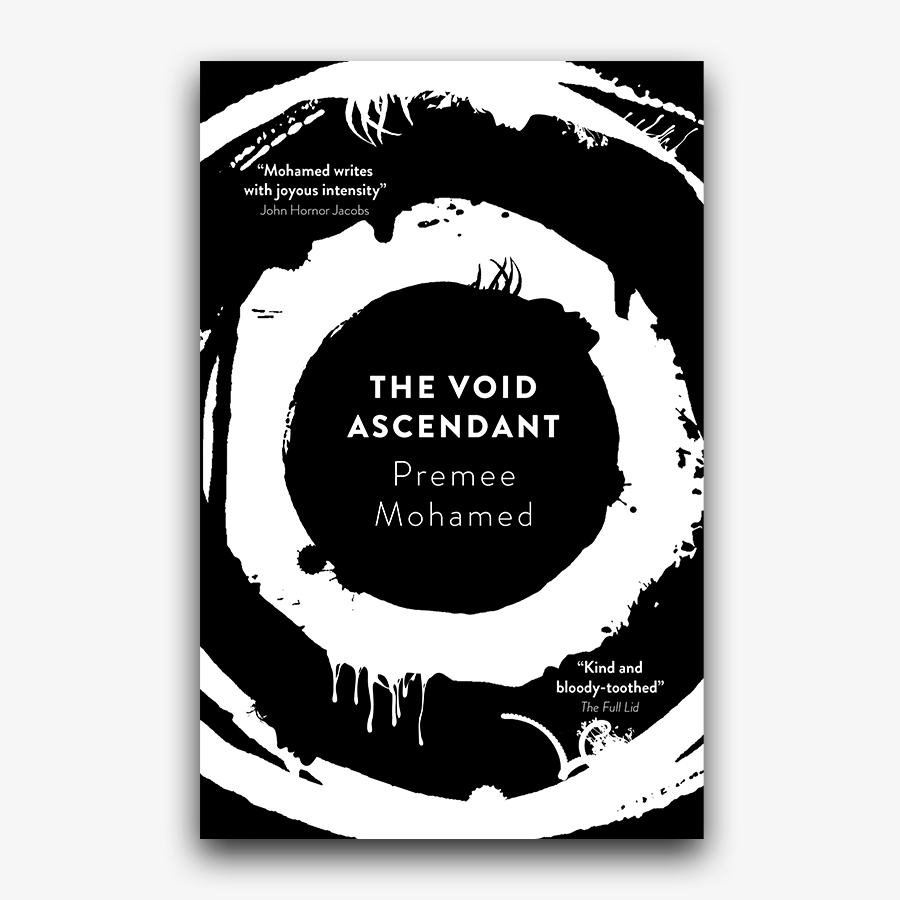 Revealing the cover for The Void Ascendant by Premee Mohamed