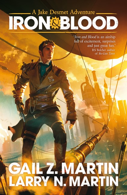 Iron and Blood ( A Jake Desmet Adventure 1 )