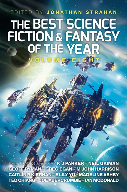 The Best Science Fiction and Fantasy of the Year, Volume Eight ( The Best Science Fiction and Fantasy of the Year 8 )