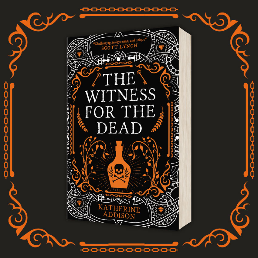 OUT NOW: The Witness For The Dead by Katherine Addison (UK)!