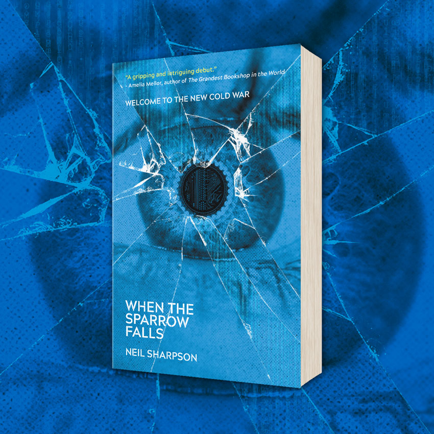 OUT NOW: When The Sparrow Falls by Neil Sharpson (UK)!