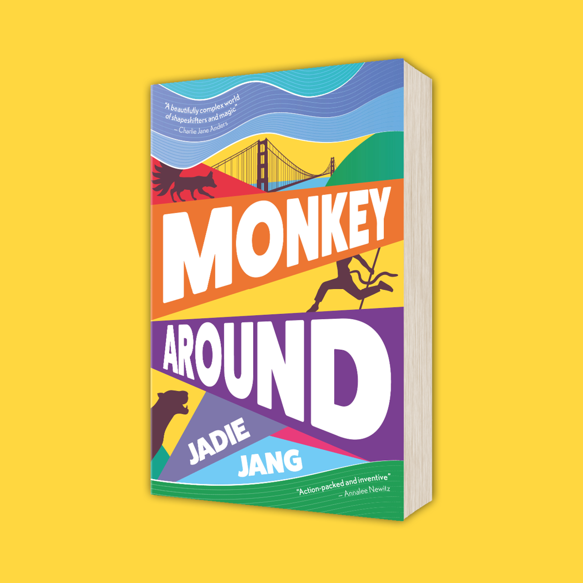 OUT NOW: Monkey Around by Jadie Jang!