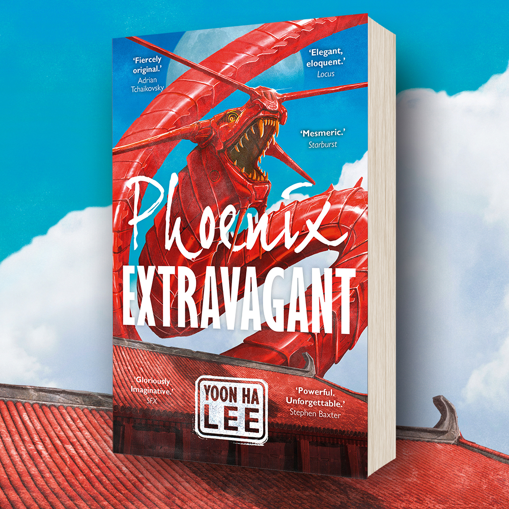 OUT NOW: Phoenix Extravagant by Yoon Ha Lee (Paperback)