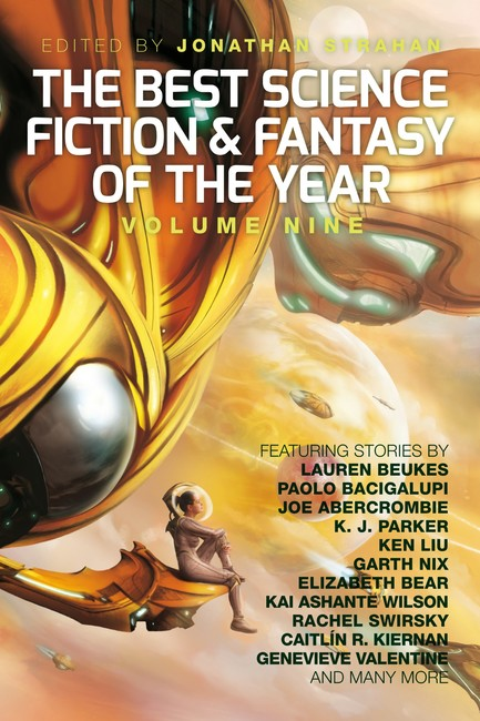 The Best Science Fiction and Fantasy of the Year, Volume Nine ( The Best Science Fiction and Fantasy of the Year 9 )