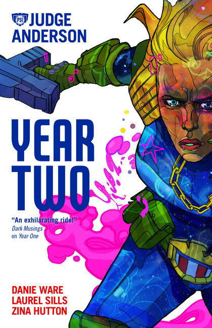 Judge Anderson: Year Two ( Judge Anderson: The Early Years )