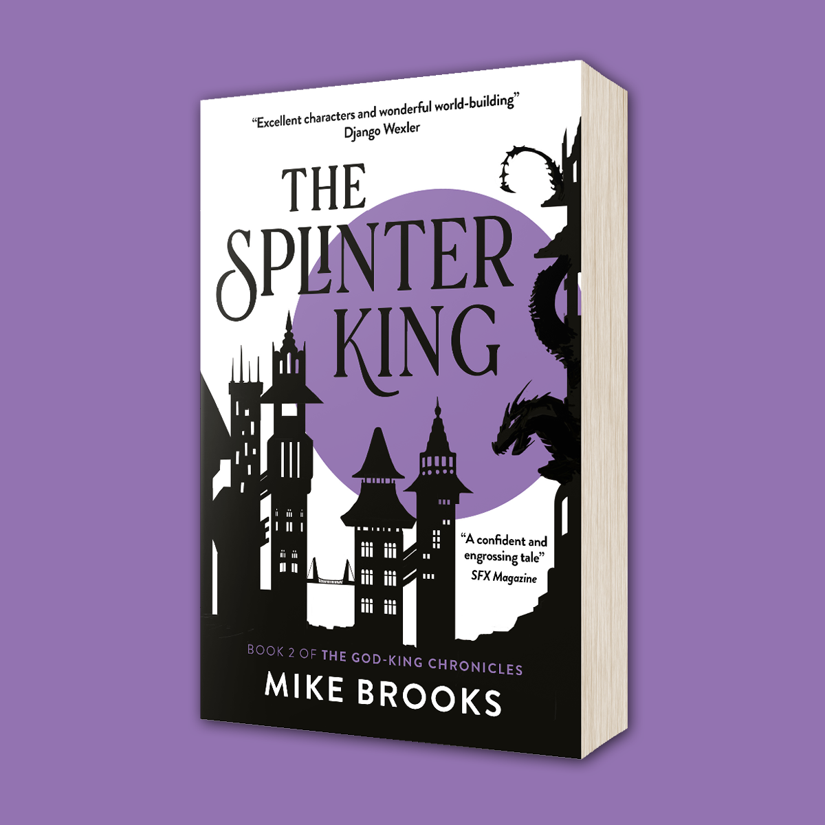 OUT NOW: The Splinter King by Mike Brooks (US)!