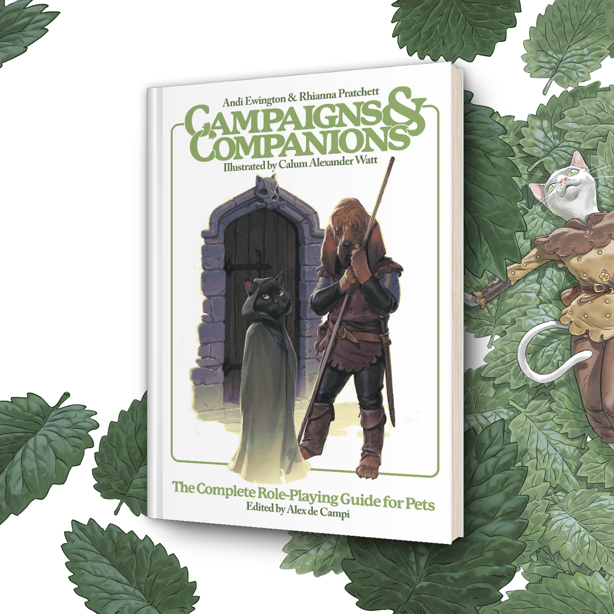 OUT NOW: Campaigns & Companions: The Complete Role-Playing Guide for Pets!