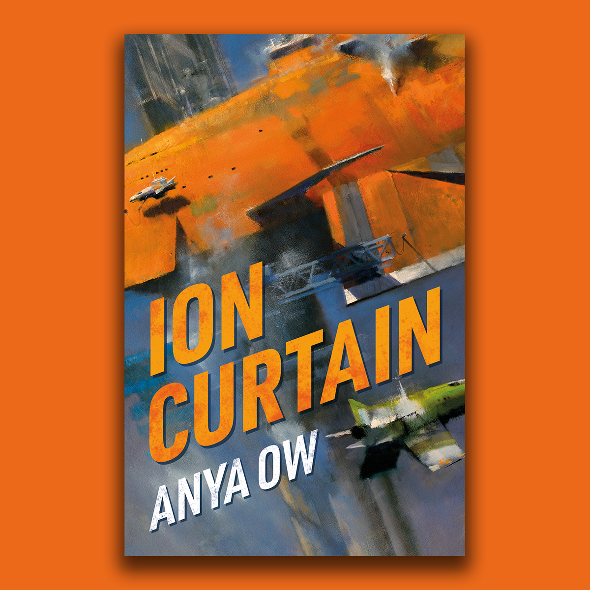 Revealing the cover for Ion Curtain by Anya Ow